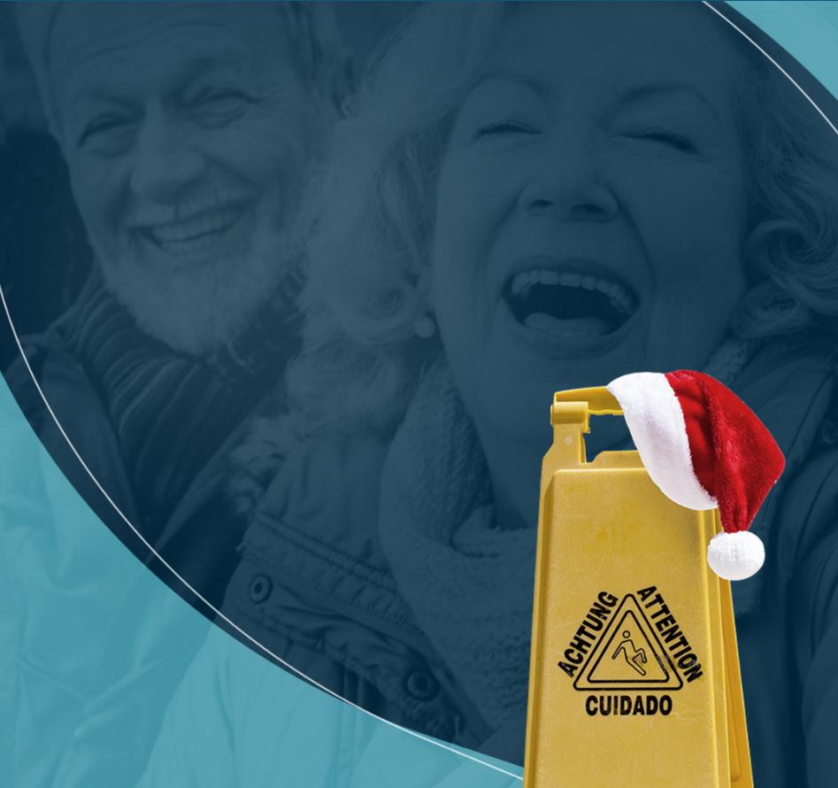 Prevenção de quedas de idosos: Papai Noel inspira campanha da SBOT