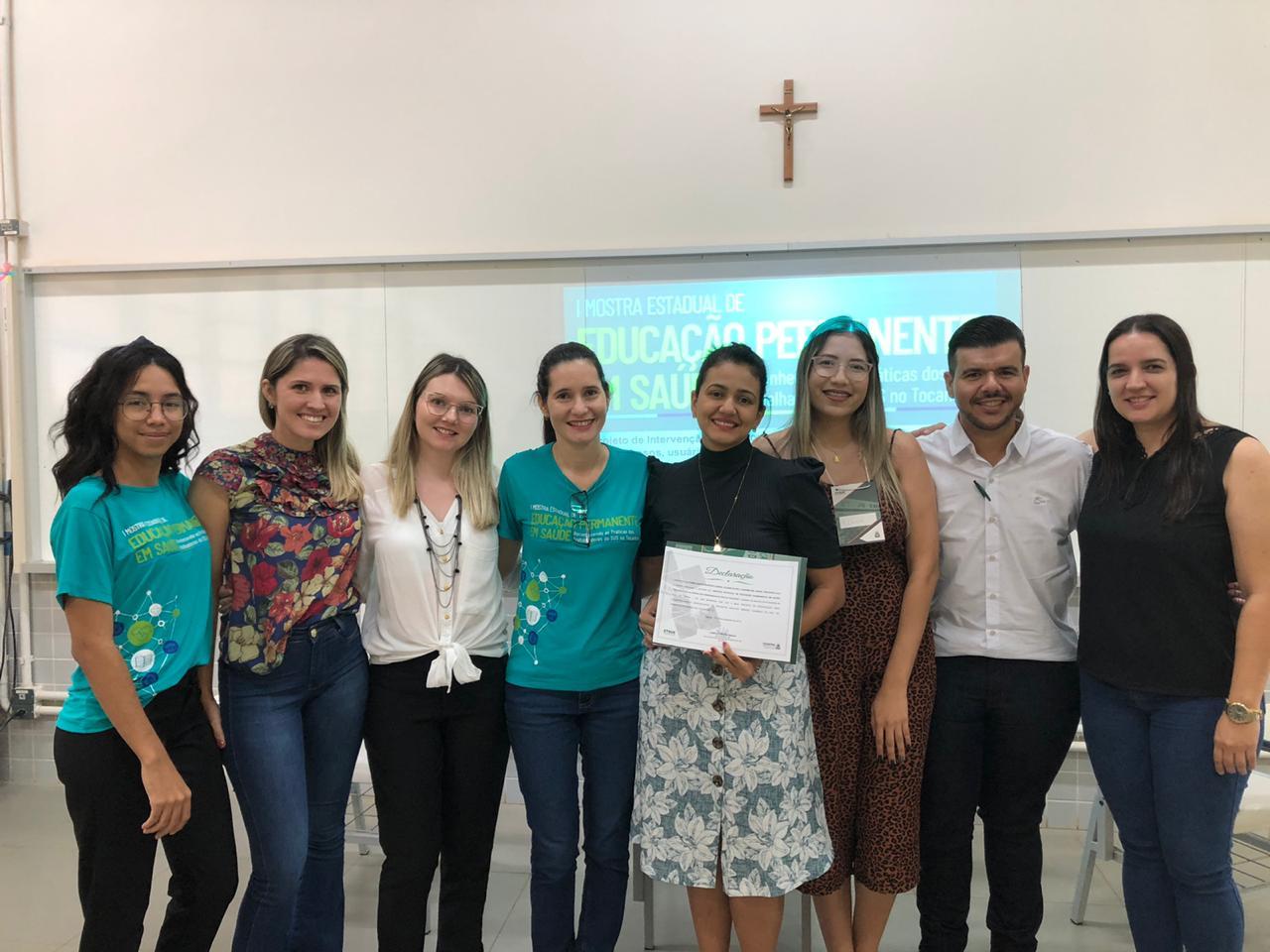 Projeto da SEMUS em Paraíso é selecionado e está na I Mostra Estadual de Educação Permanente em Saúde