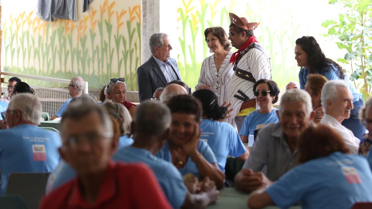 Representante do Governo Federal destaca que Palmas é referência em projetos sociais para o idoso
