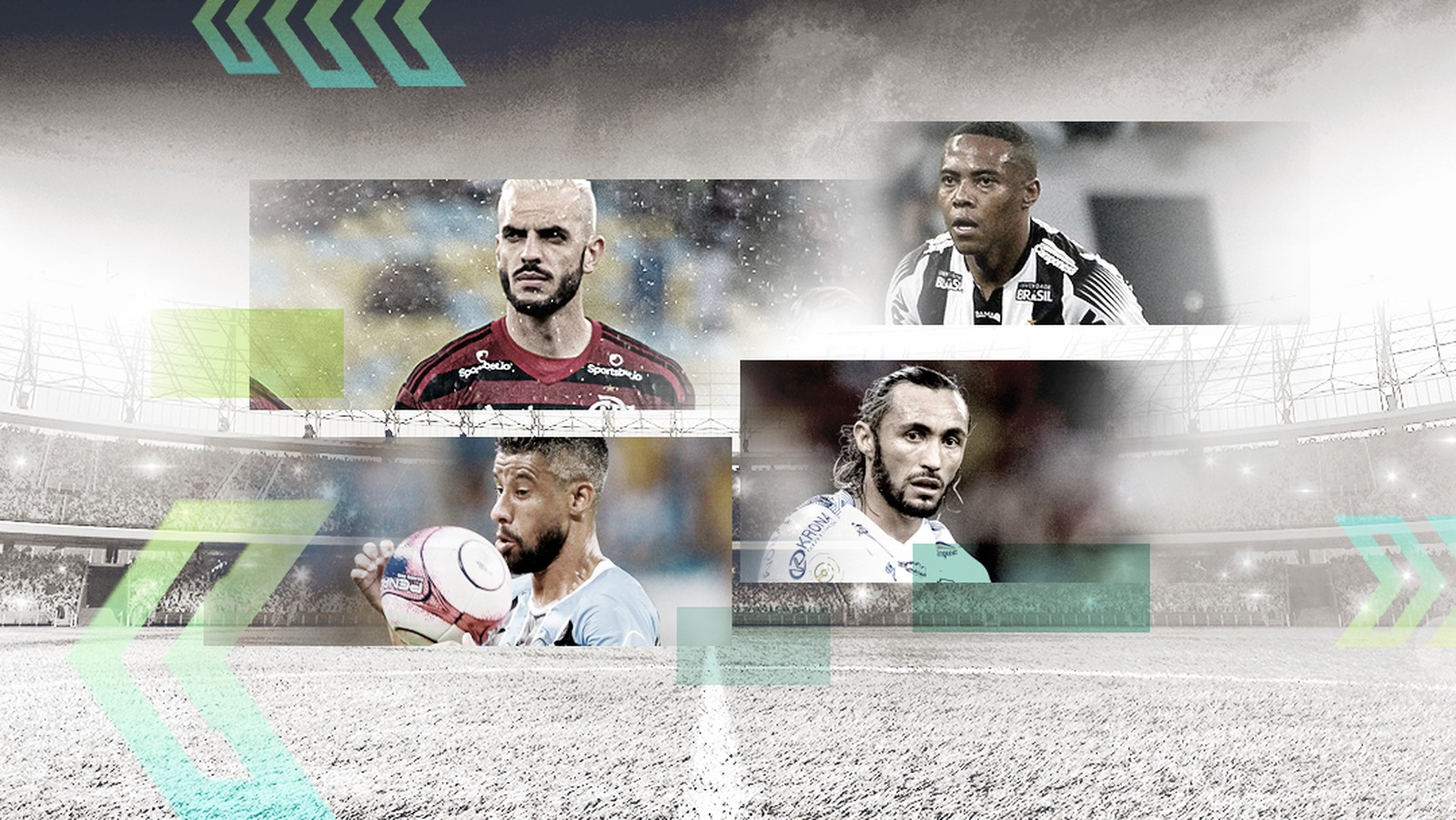 De Léo Moura a Elias: Central lista jogadores livres no mercado