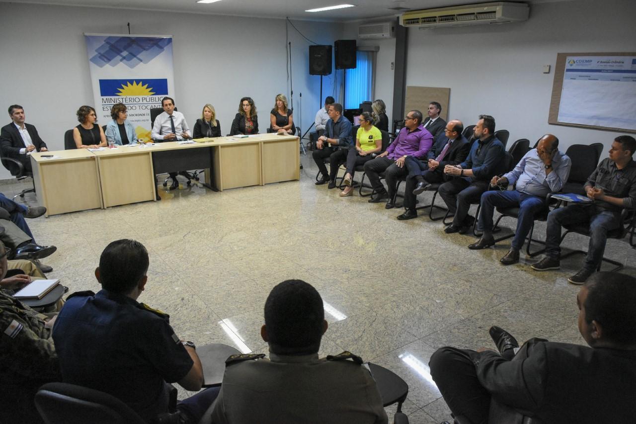 Força-tarefa de combate à poluição sonora em Palmas discute estratégias para novas fiscalizações