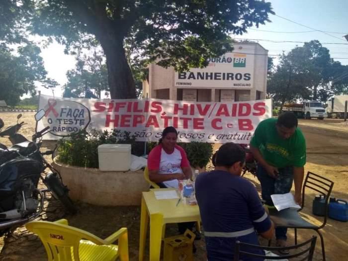 Secretaria Municipal de Saúde de Fátima disponibiliza posto móvel para exames de ISTs