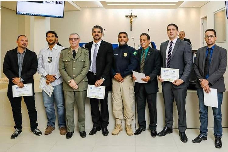 Superintendente da PRF Tocantins é homenageado na Paraíba pelo Conselho Federal de Capelania