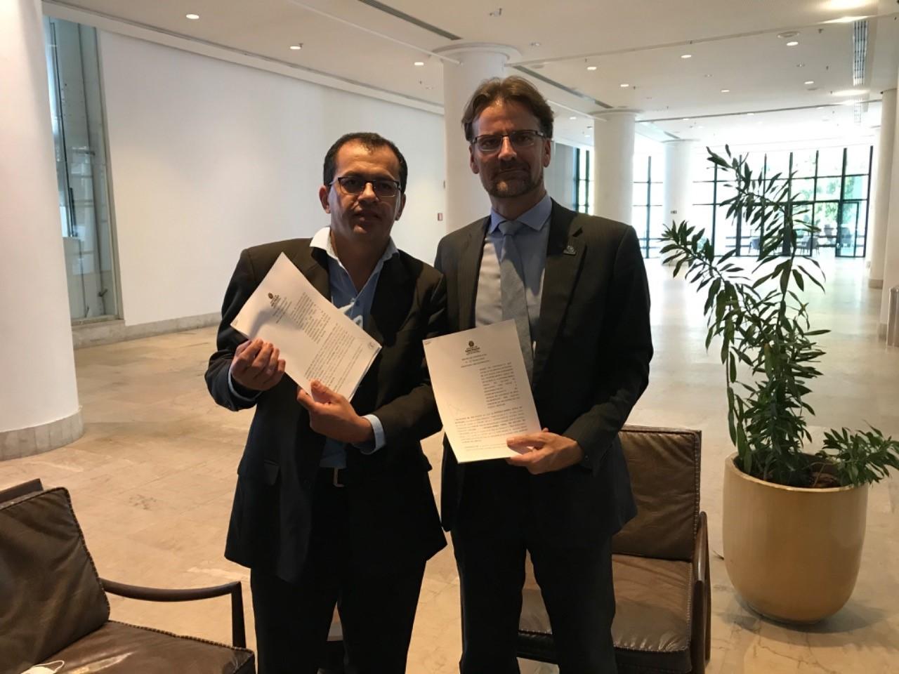 Controladoria-Geral do Estado firma acordo de cooperação técnica com órgão de controle de São Paulo