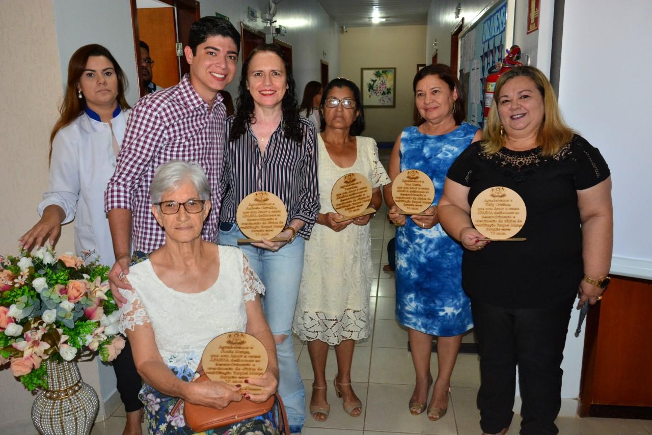 Vice-Prefeito Celso Morais participa da comemoração pelos 10 anos da Clínica de Reabilitação Raquel Murça