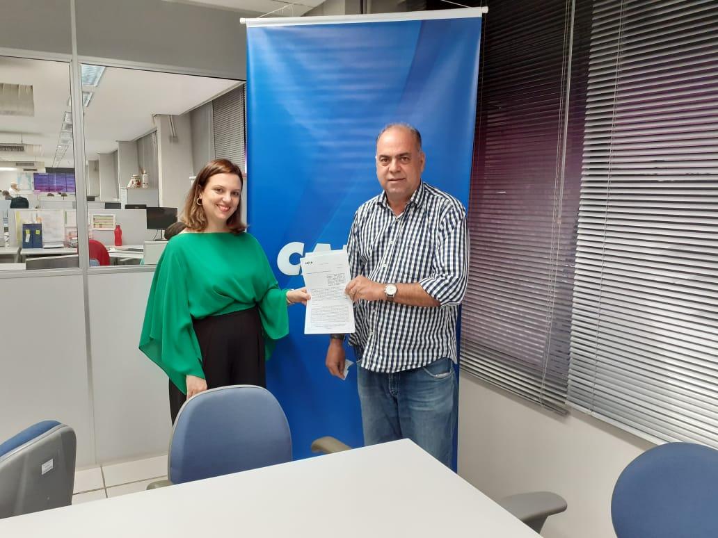 Prefeito de Fátima assina contrato para obtenção de recurso para construção de balneário