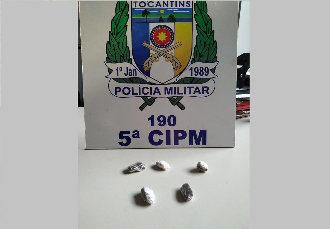 Polícia Militar apreende adolescente por porte de entorpecente em Ananás TO
