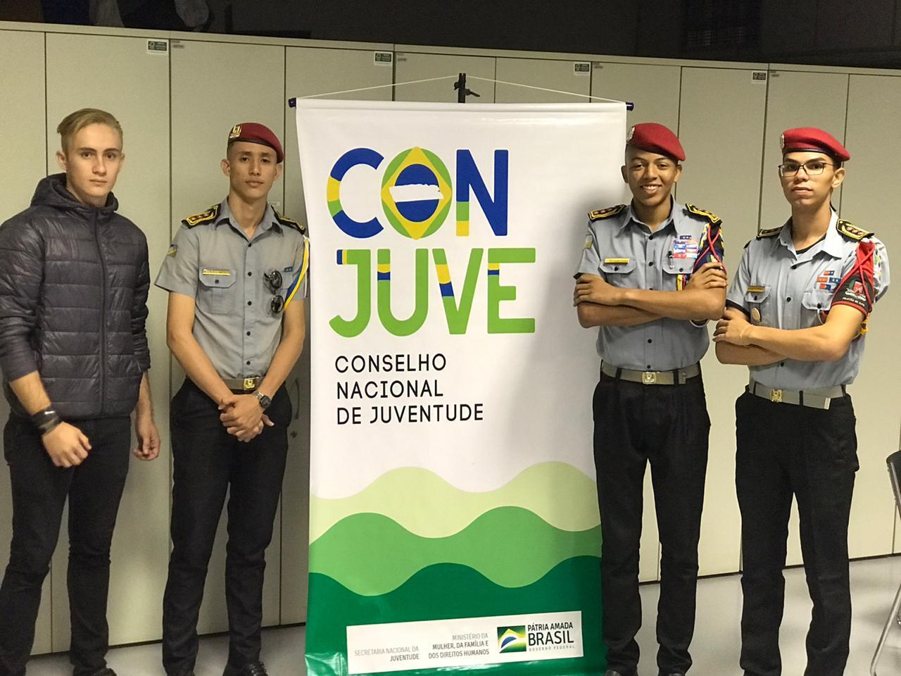 Gremistas tocantinenses participam de Encontro do Congresso Nacional da Juventude em Brasília
