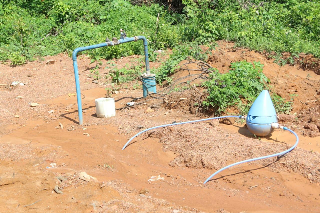 Município de Fátima doa terreno e garante abertura de poço artesiano com vazão de 300 mil litros por dia
