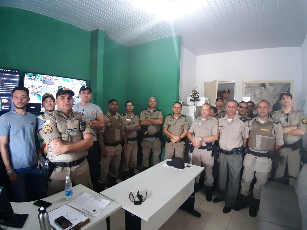 Policiais Militares recebem treinamento sobre sistema de videomonitoramento de Tocantinópolis