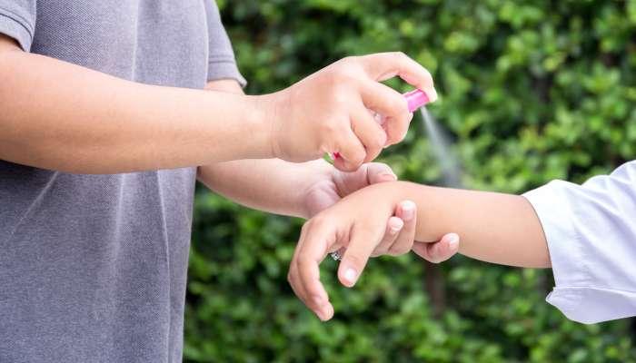 Especialista orienta sobre o uso correto do repelente nas crianças