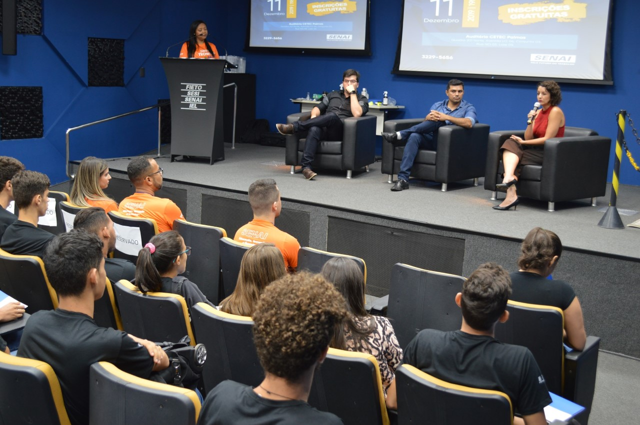 Atuação do técnico em química na área forense é tema de simpósio realizado pelo SENAI em Palmas
