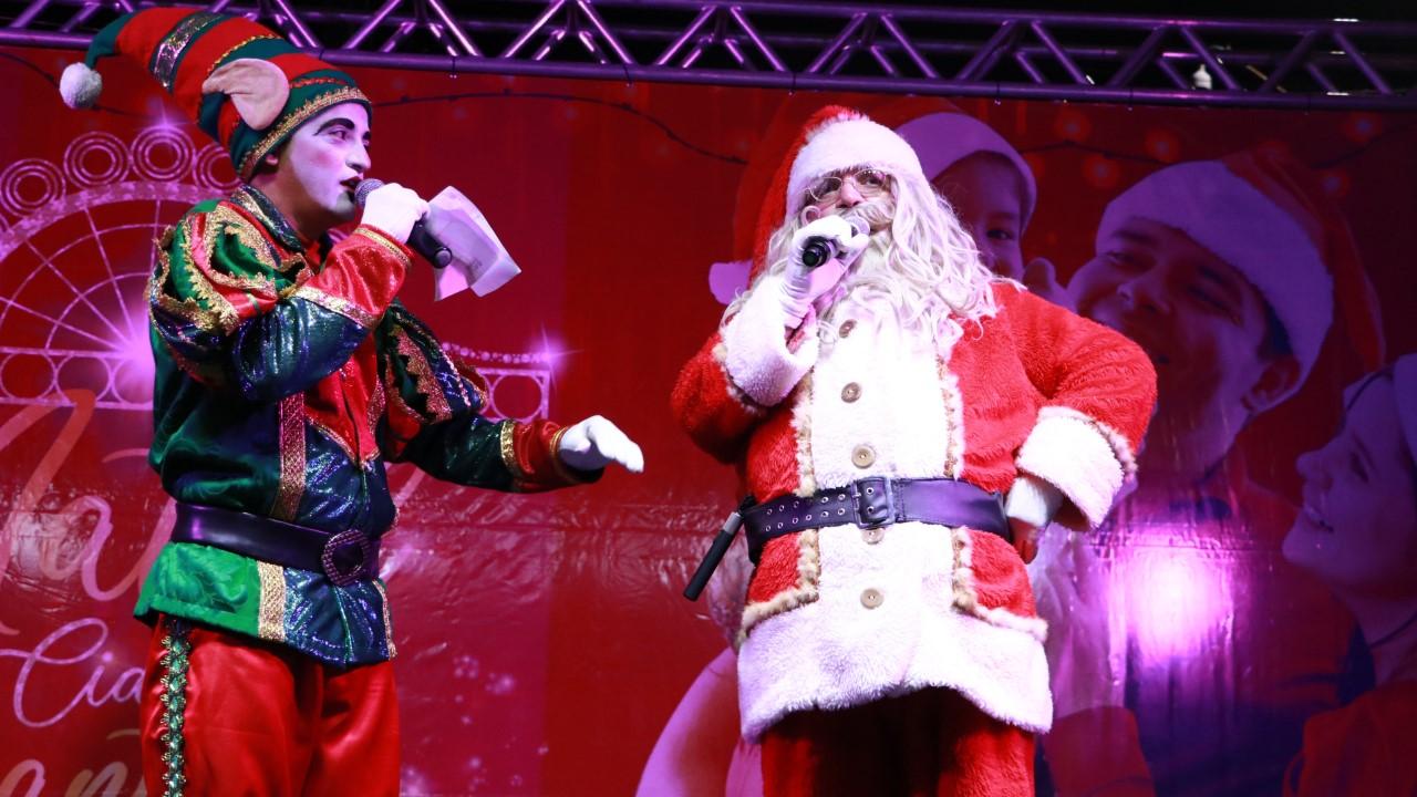 Taquaralto recebe Papai Noel e apresentações musicais no Natal Cidade Encantada