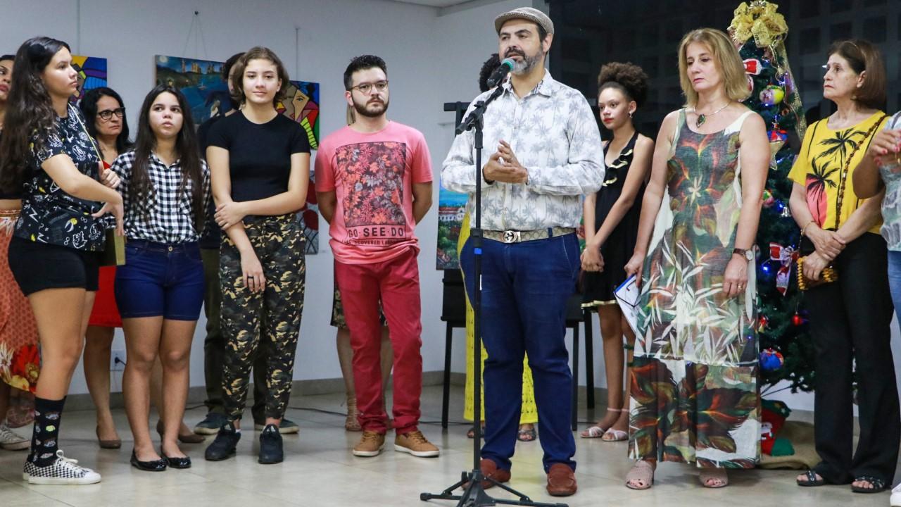 Cursos de Artes Visuais da Fundação Cultural de Palmas encerram o semestre com 'Mostra Didática'