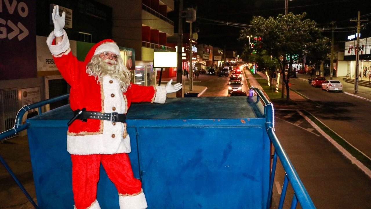 Programação do Natal Cidade Encantada será levada pela primeira vez ao Setor Taquari