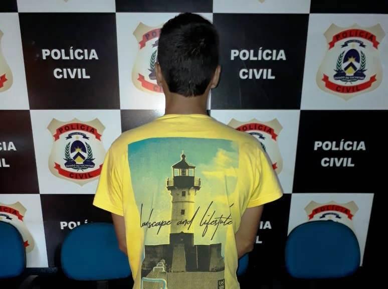 Polícia Civil prende homem em flagrante por ter cometido crimes diversos em Colinas