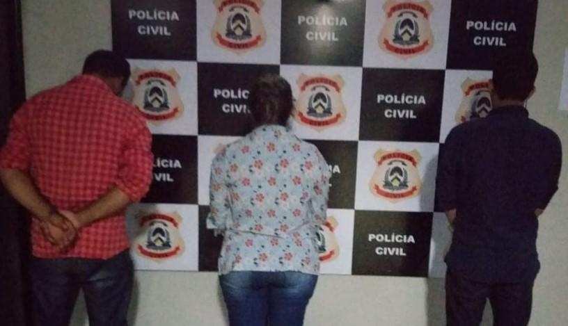 Polícia Civil prende três pessoas e apreende 10,5 kg de pasta base de cocaína em Santa Fé do Araguaia (TO)