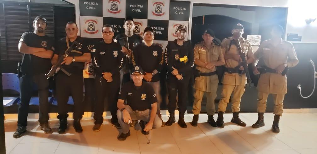 Polícias Civil e Militar realizam operação conjunta de combate ao tráfico