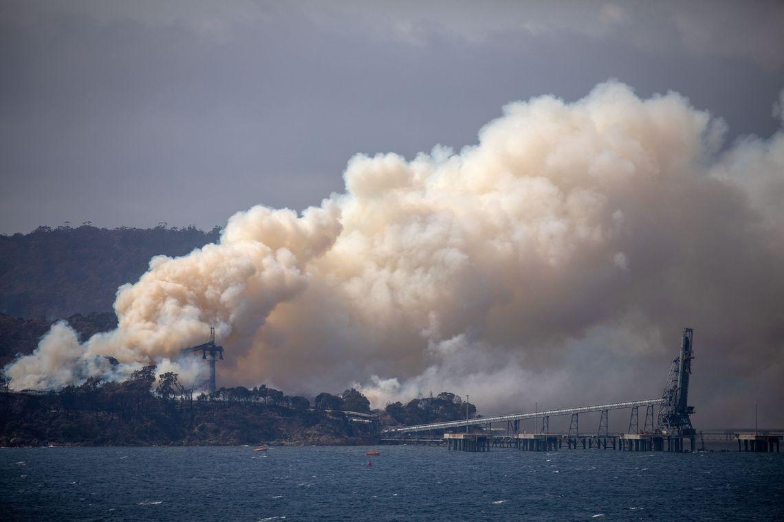 Três pessoas morrem em queda de avião que combatia incêndio na Austrália