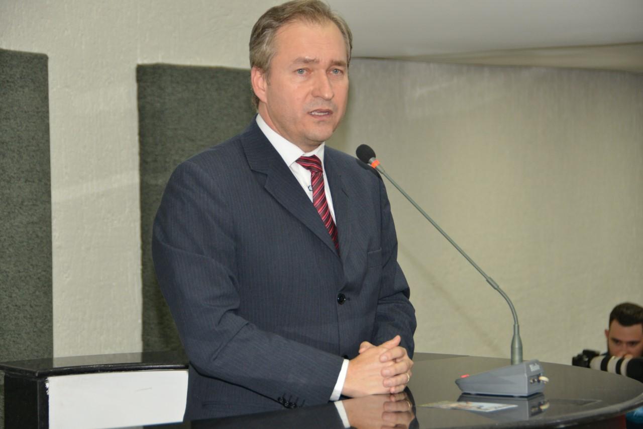 Mirando eleição de outubro, Dimas empossa nesta quinta-feira Alan Barbiero na presidência do Podemos em Palmas