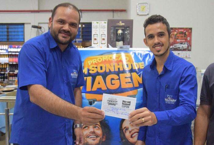 Conheça o ganhador da promoção 'Um Sonho de Viagem' do Supermercado Bem Maior