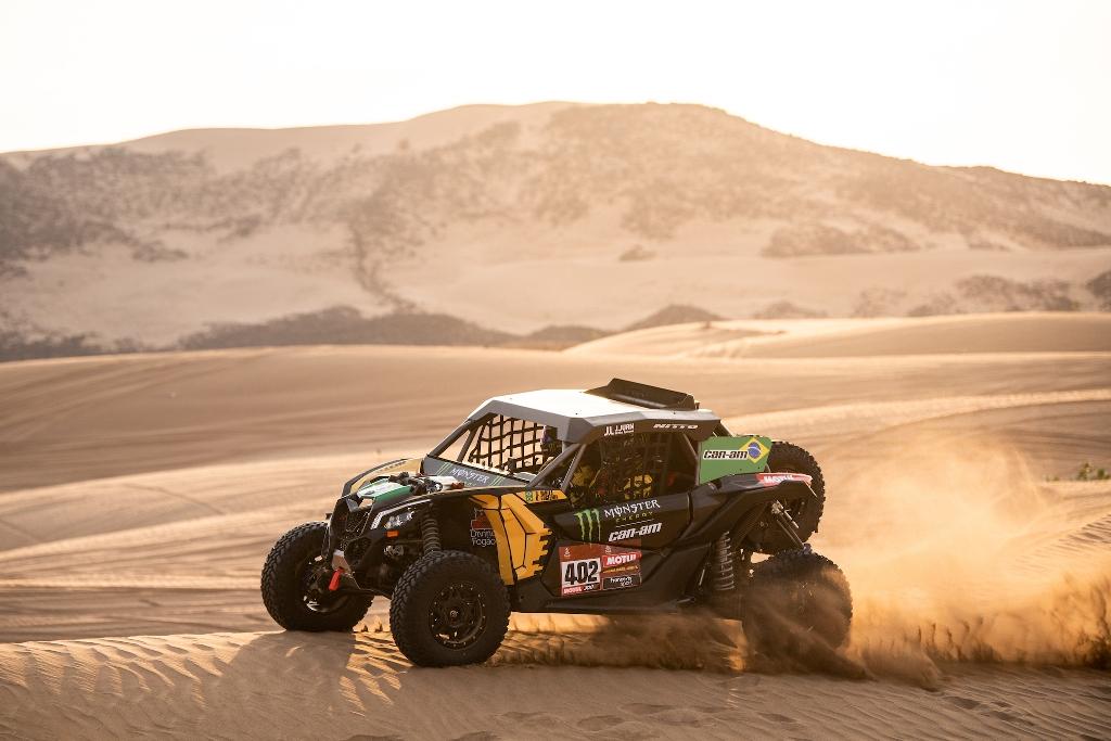 No top 10 dos UTVs, brasileiros partem para o último dia do Rally Dakar 2020