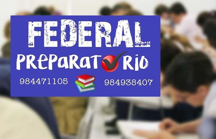 Federal Preparatório abre turmas em Paraíso para concursos públicos e oferece aulas experimentais
