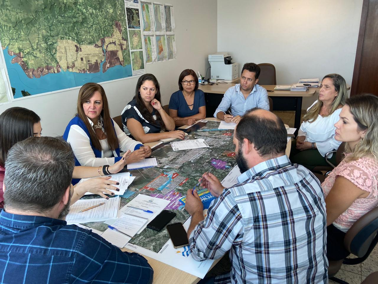 Código de Posturas e de Obras: reunião na Sedurf define preparativos finais para as audiências públicas na Capital