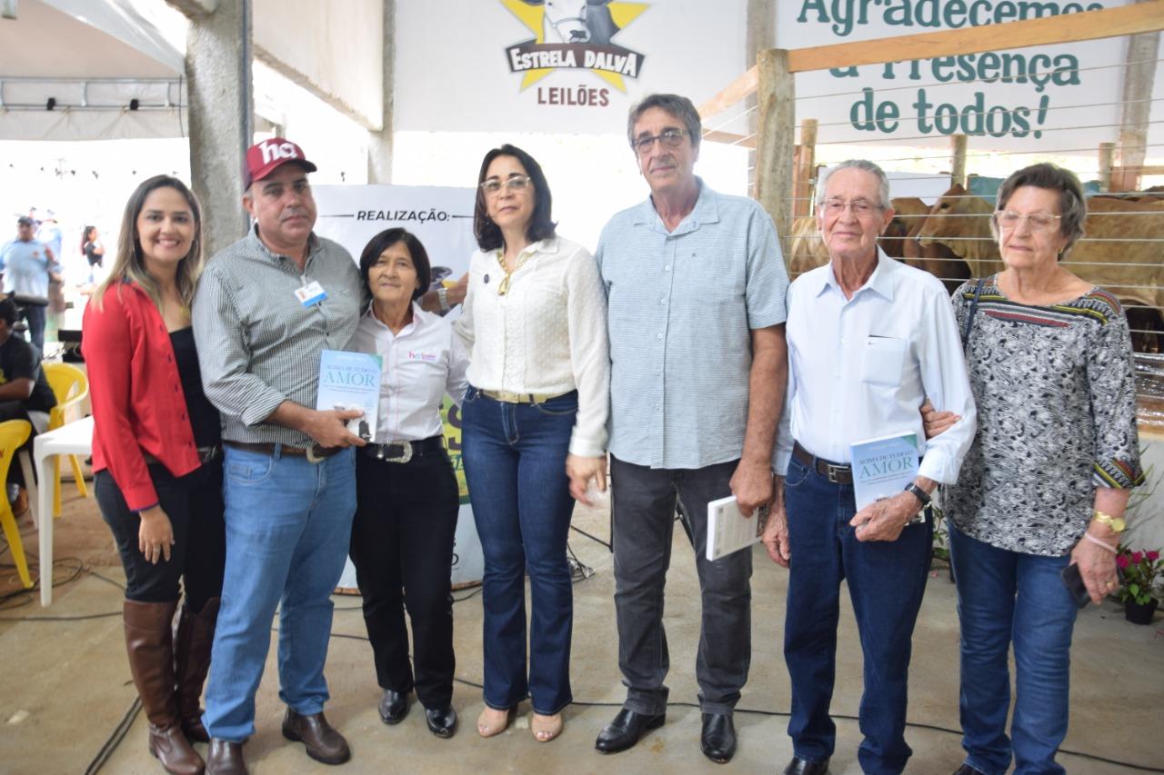 Nova coordenação do Hospital de Amor de Paraíso é anunciada em inauguração do Estrela Dalva Leilões