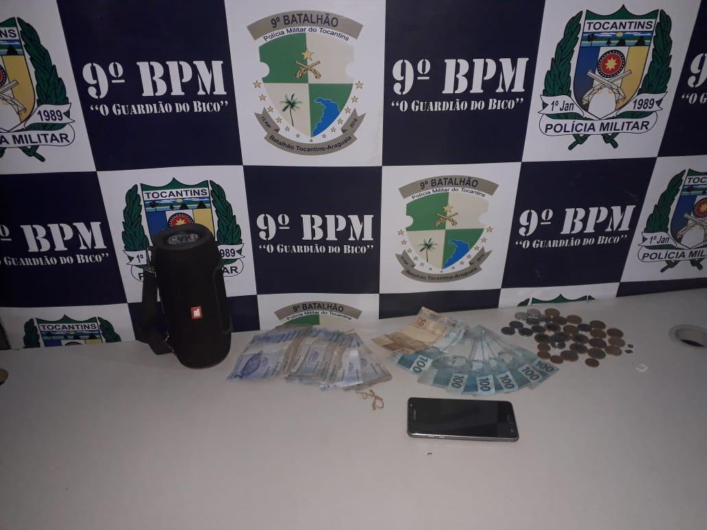 PM detém três pessoas por furto e receptação em Araguatins e São Miguel do Tocantins