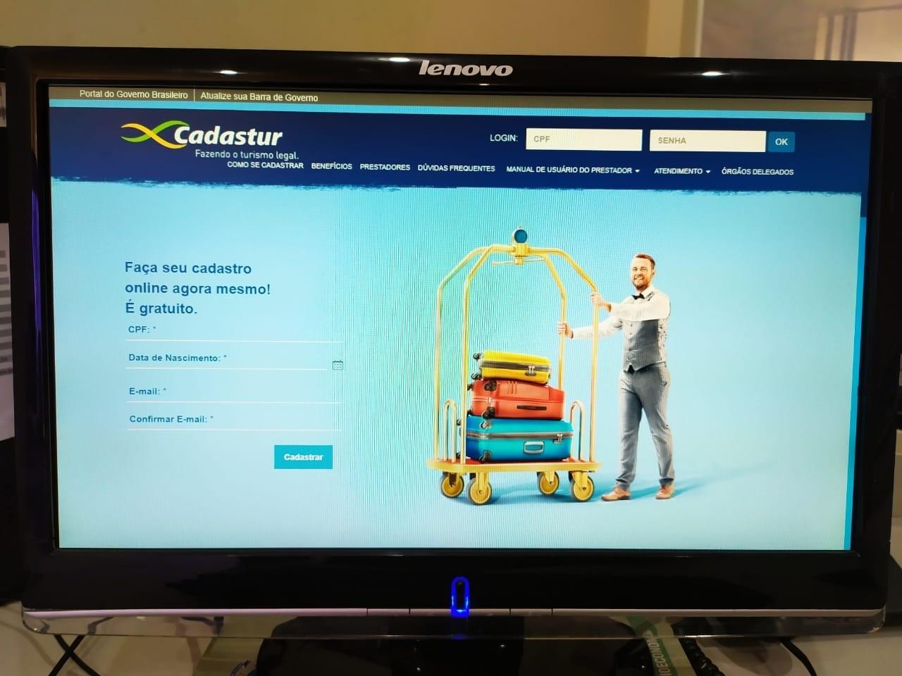 Governo do Tocantins adere à campanha do MTur para estimular empresas a aderirem ao Cadastur