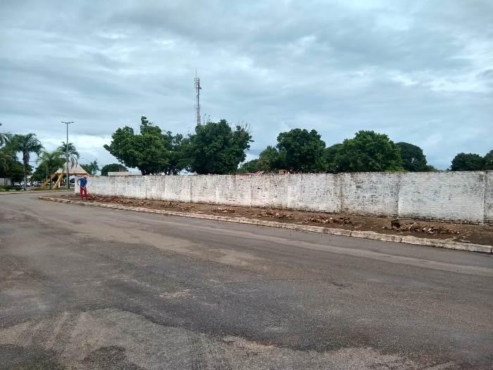 Prefeitura de Pium inicia obra de reforma e ampliação do Cemitério Municipal
