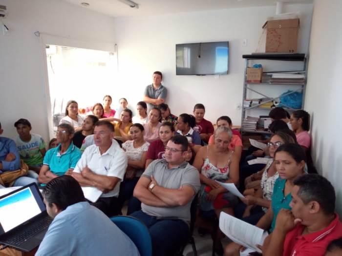Profissionais de Dois Irmãos participam de oficina sobre novo modelo de financiamento da Atenção Primária à Saúde