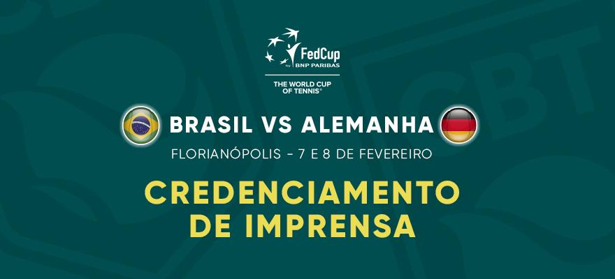 Aberto credenciamento de Imprensa para a Fed Cup em Florianópolis (SC)