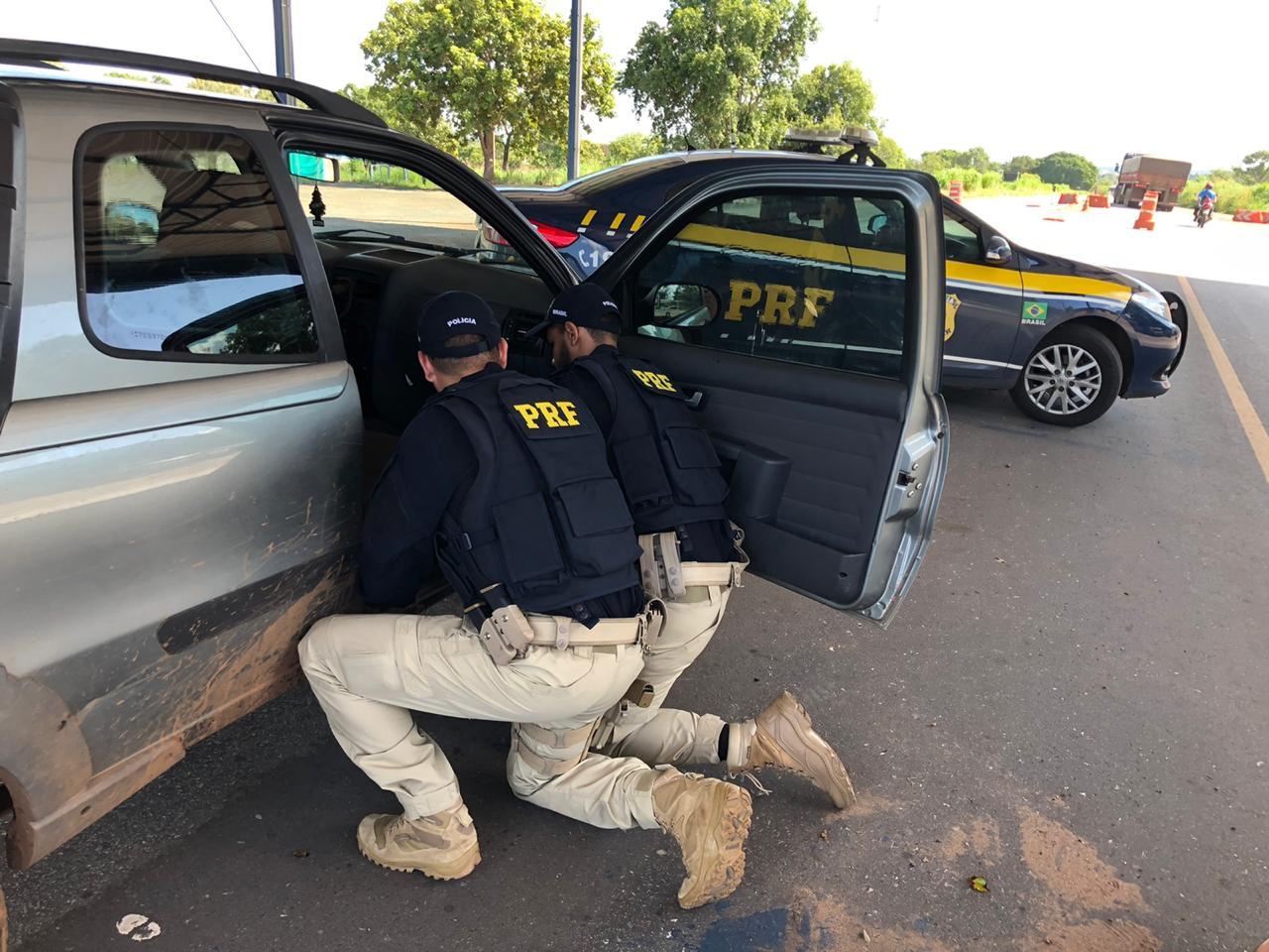 PRF recupera, em Cariri, veículo furtado em há quase dois anos em Minas Gerais