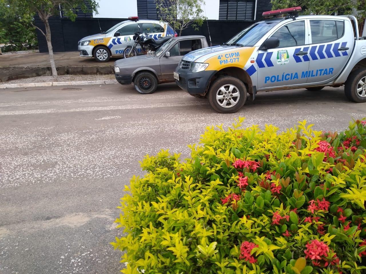 Polícia Militar recupera veículos roubados em Cristalândia