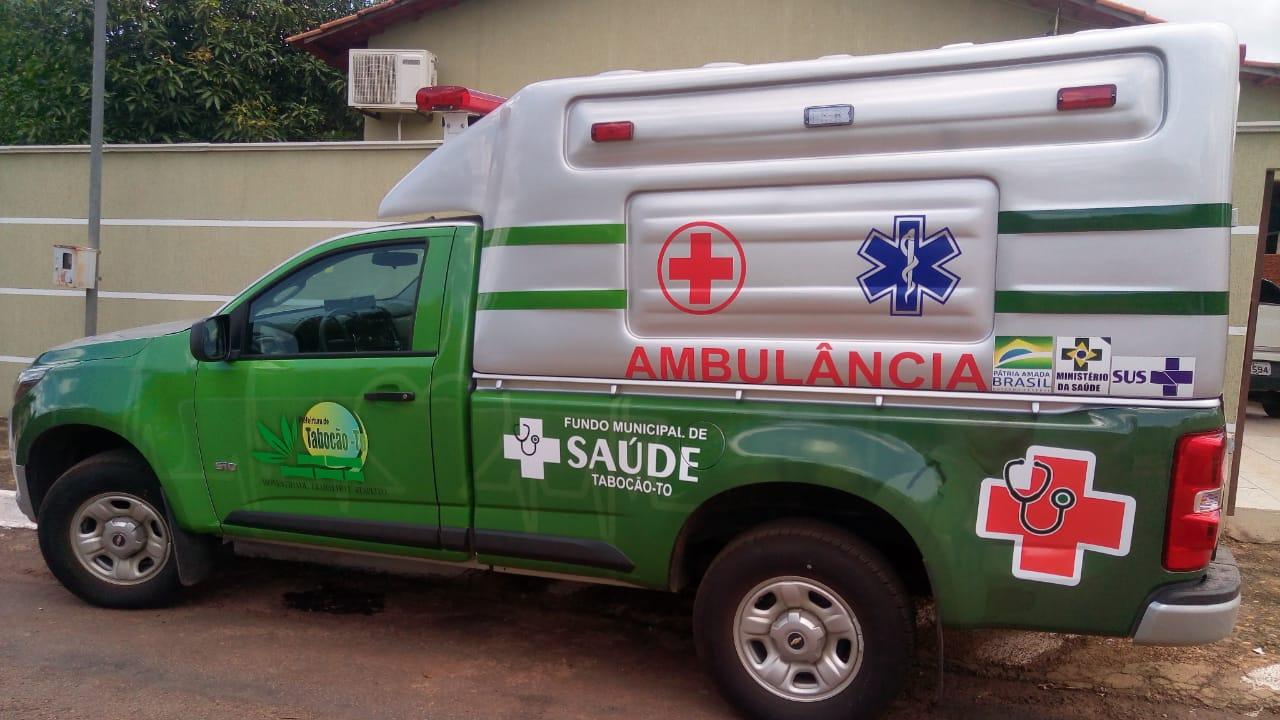 Prefeitura de Tabocão entrega nova ambulância à população