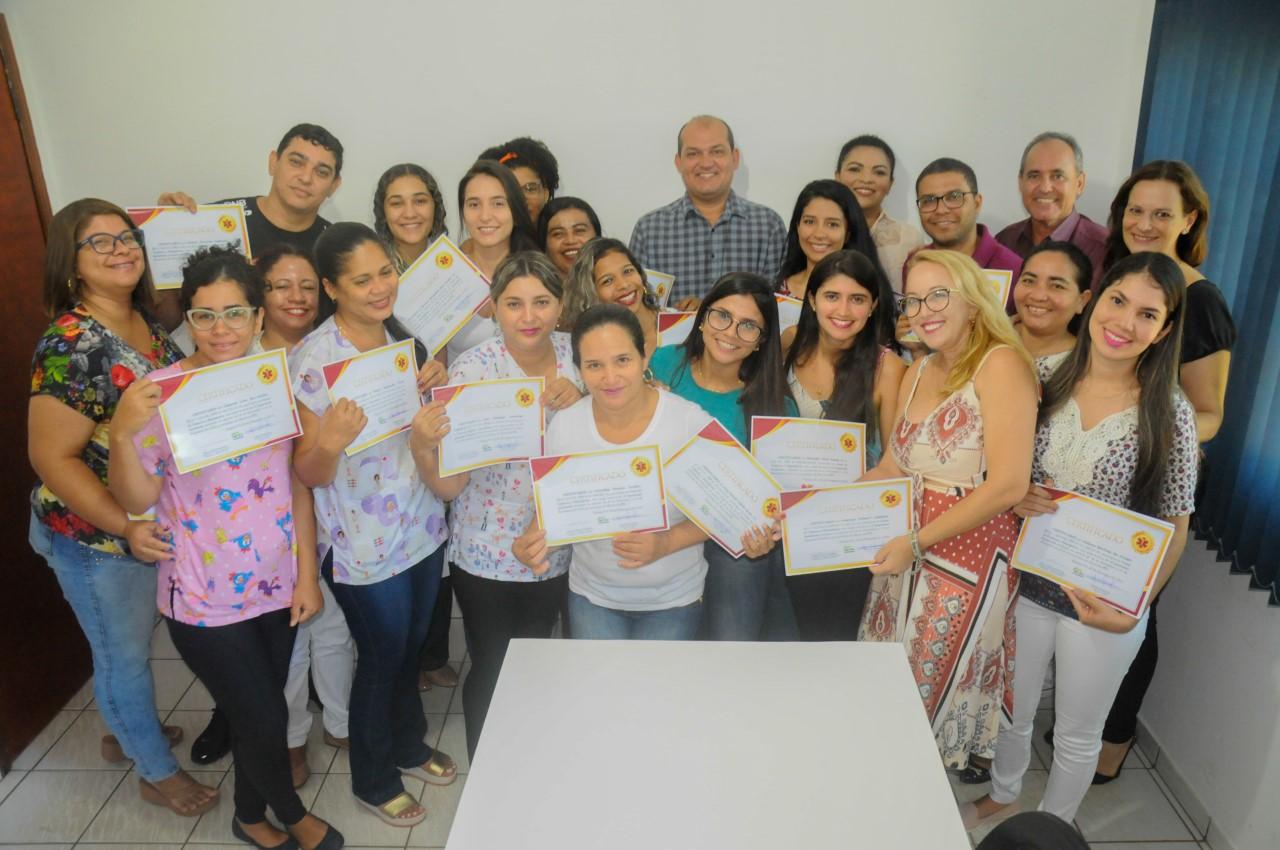 Saúde de Miracema entrega certificados à primeira turma do Curso de Primeiros Socorros