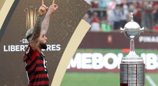 Gabigol anuncia acerto com Fla: 'Se é para o bem da Nação'