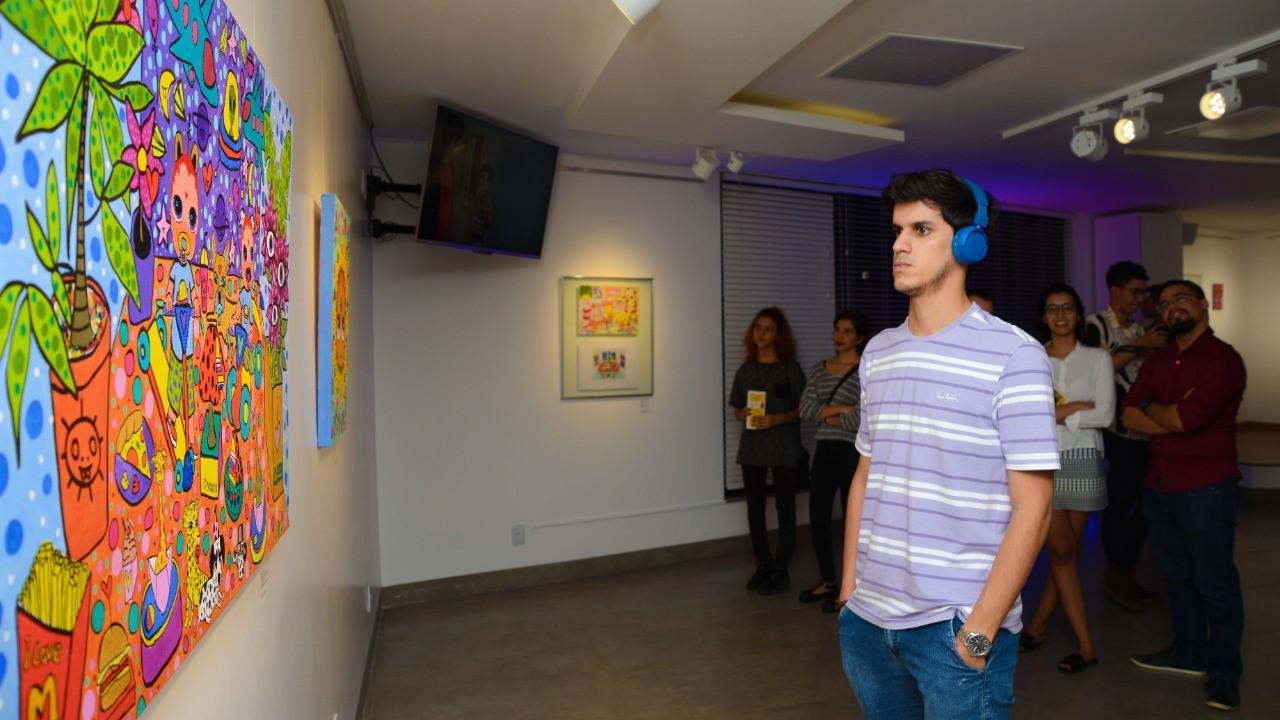 Última chamada para artistas ocuparem a Galeria Municipal de Artes da Capital