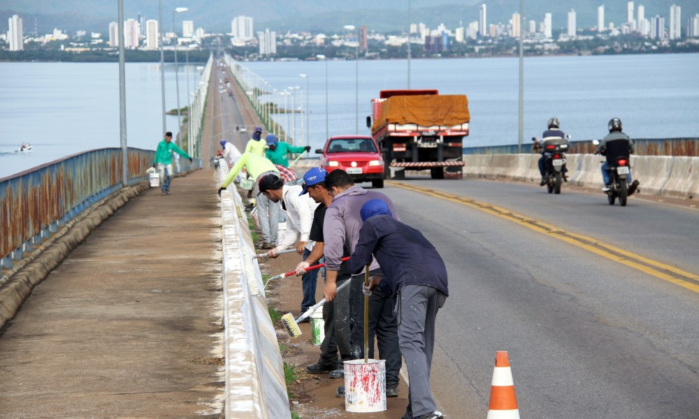 Governo inicia nesta semana serviços de roçagem e sinalização viária na ponte FHC e em Taquaruçu