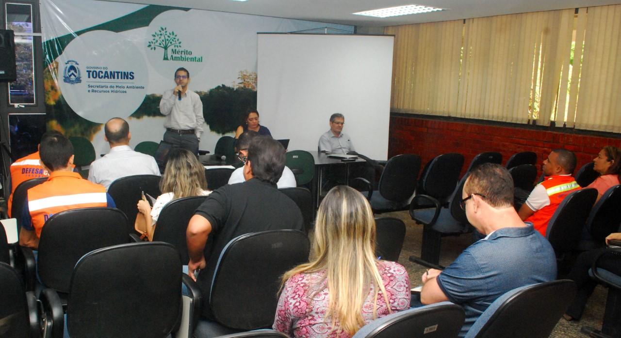 Mapa do Tocantins está disponível para consulta no programa Monitor de Secas