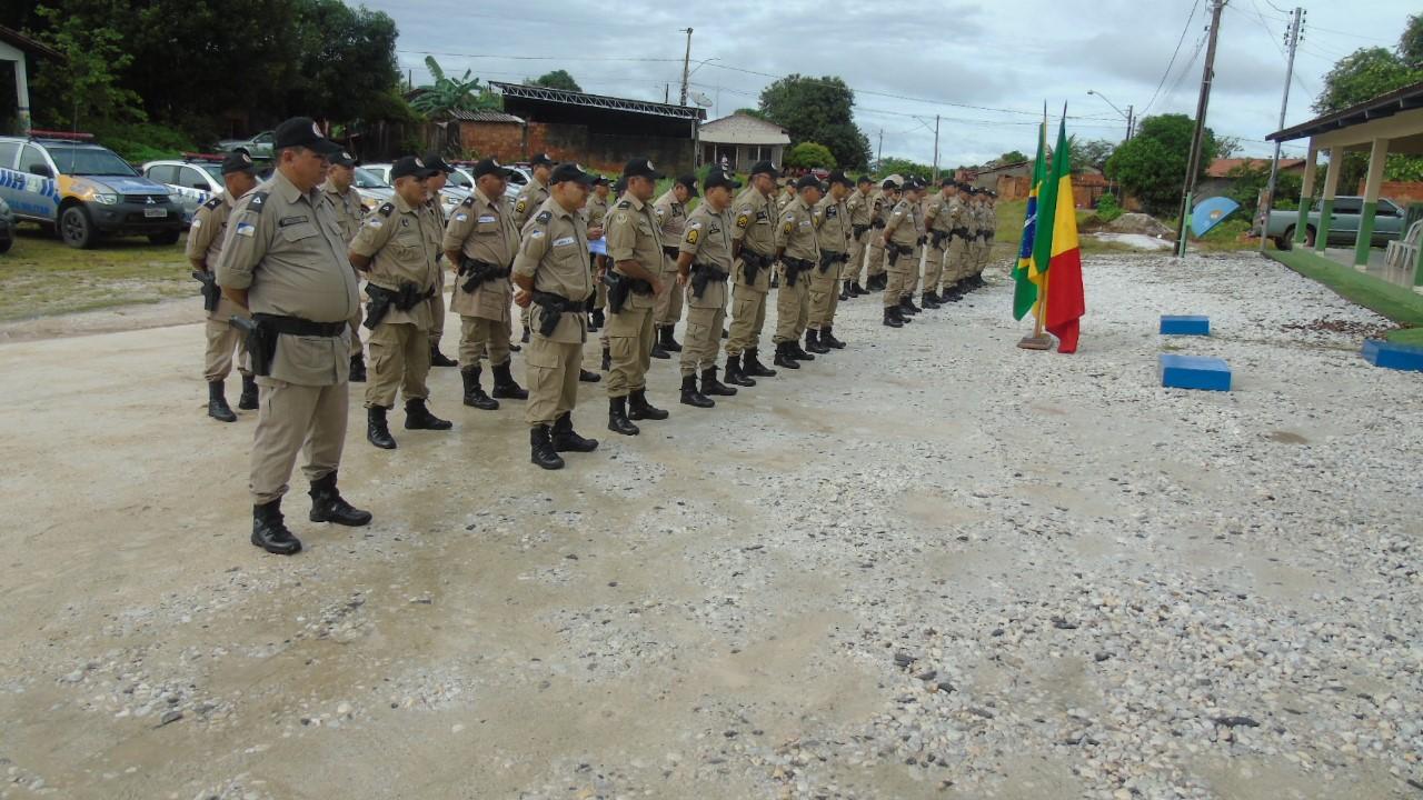 2ª Companhia Operacional Destacada de Polícia Militar, em Xambioá, tem novo comandante