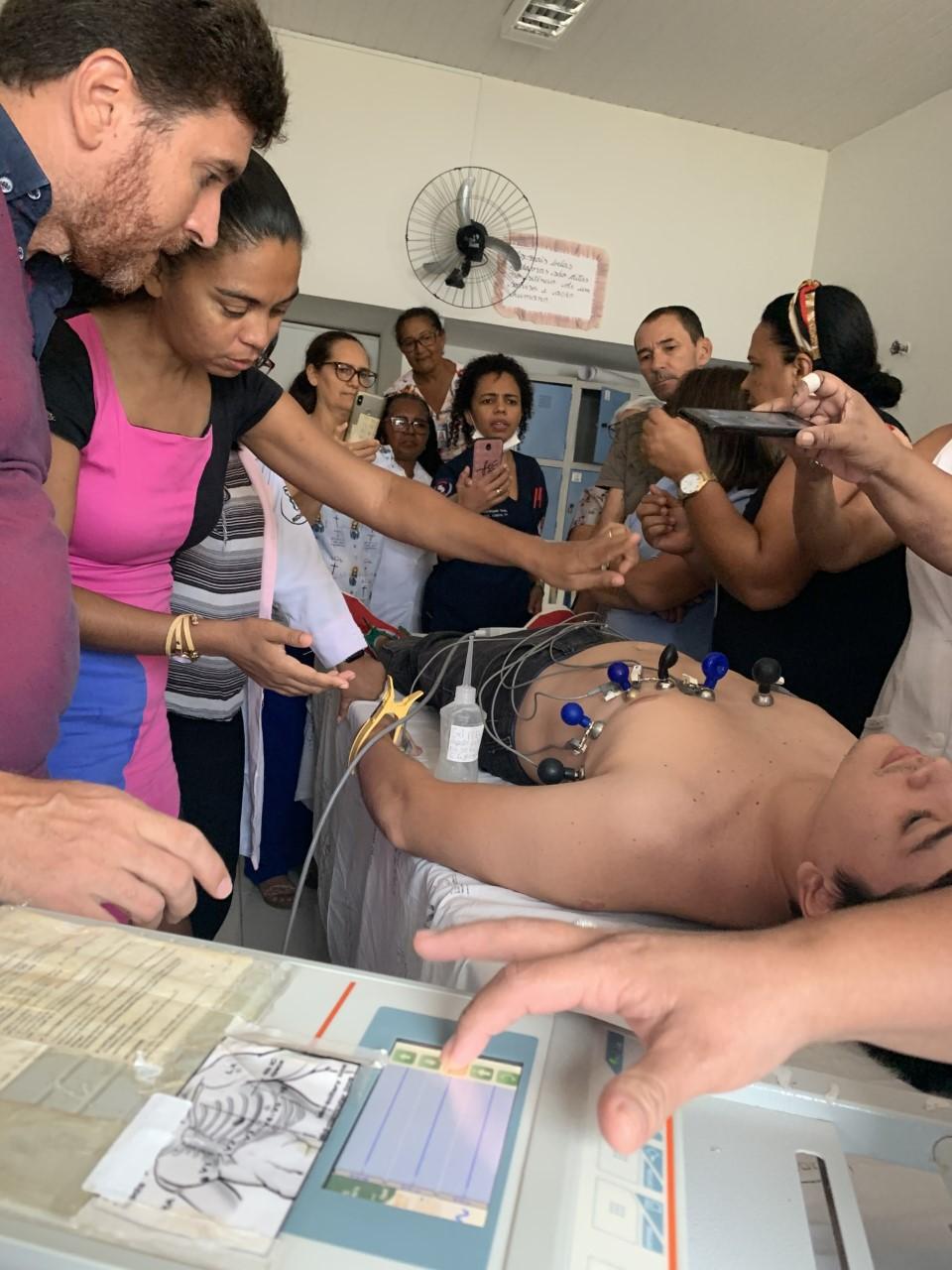 Hospital Regional de Porto Nacional realiza capacitação sobre monitoração cardíaca e eletrocardiograma