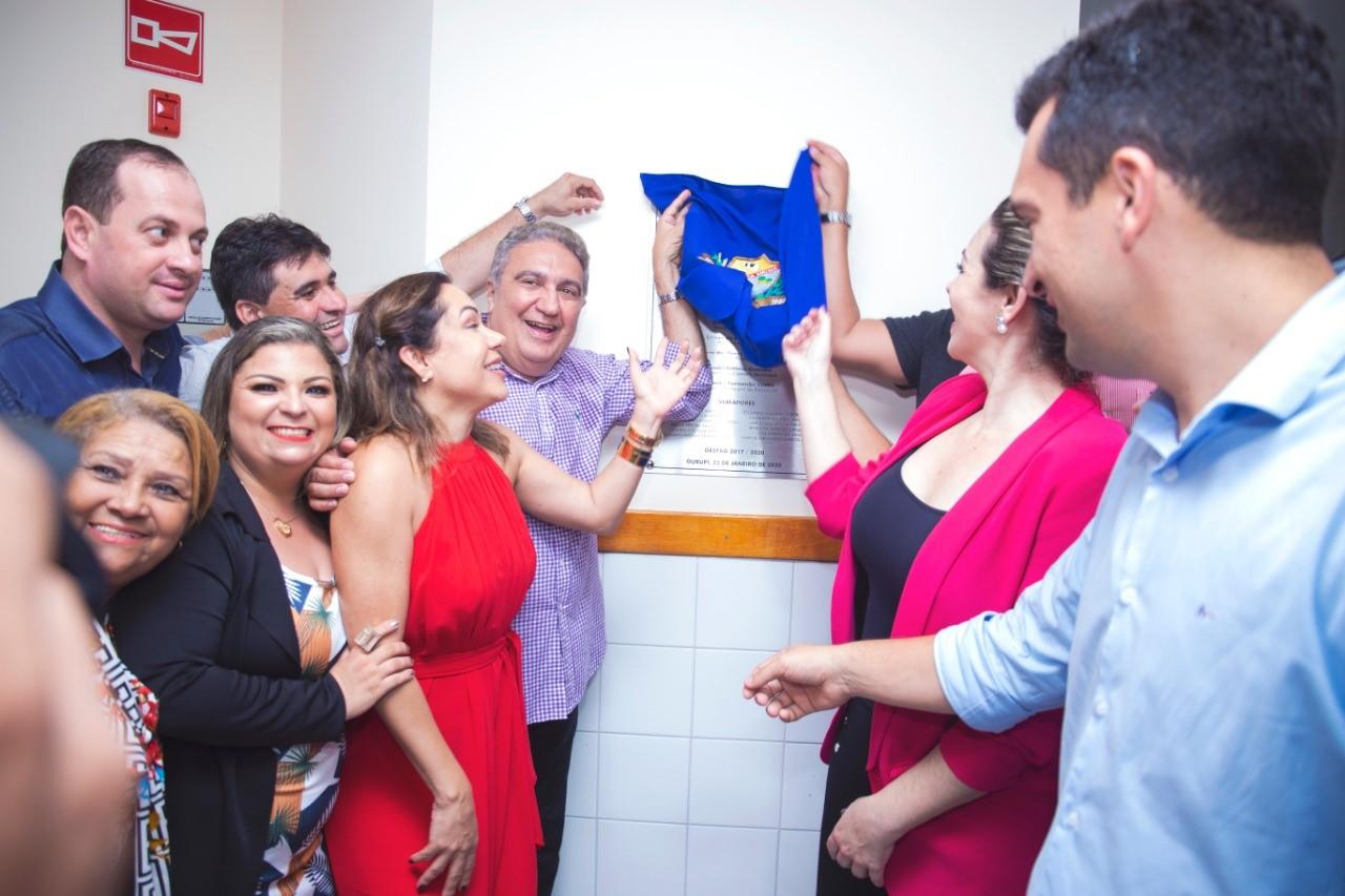 Prefeitura de Gurupi entrega 5º Cemei à população e evento é marcado por grande comoção ao relembrar história de vida do Senador João Ribeiro
