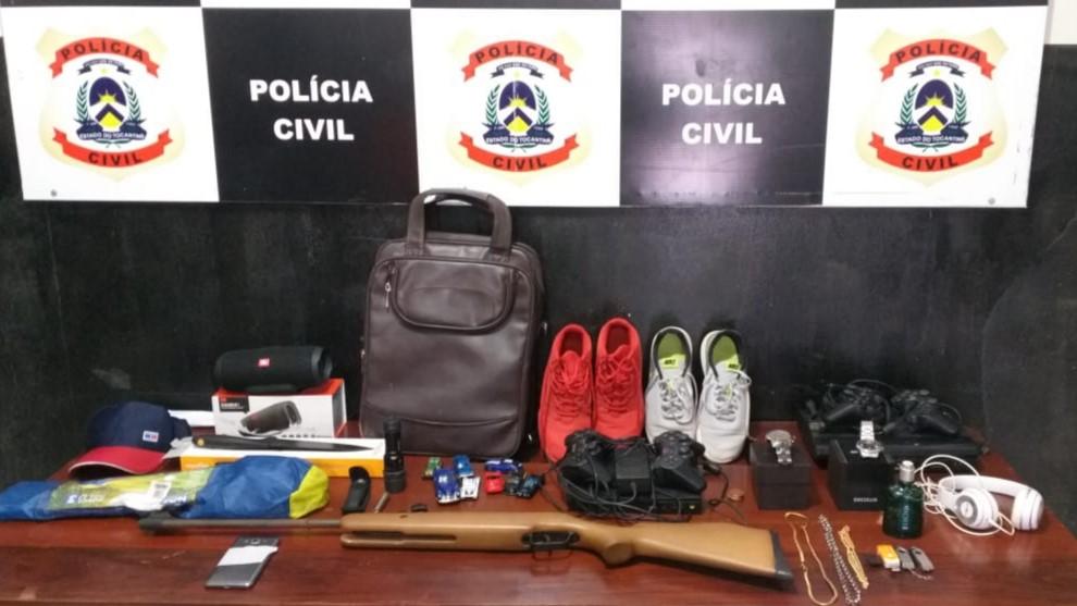 Polícia Civil recupera objetos furtados em Taguatinga
