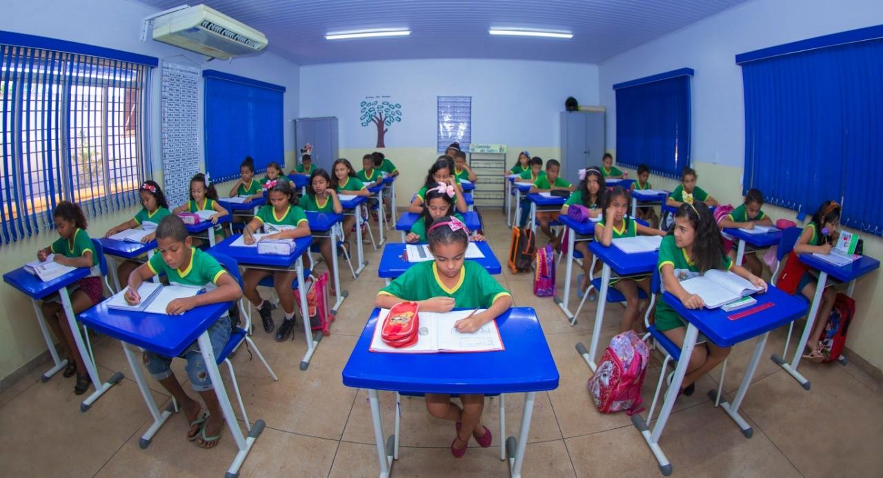 Escolas da Rede de Ensino Municipal de Gurupi recebem cerca de 7,9 mil alunos nesta volta às aulas