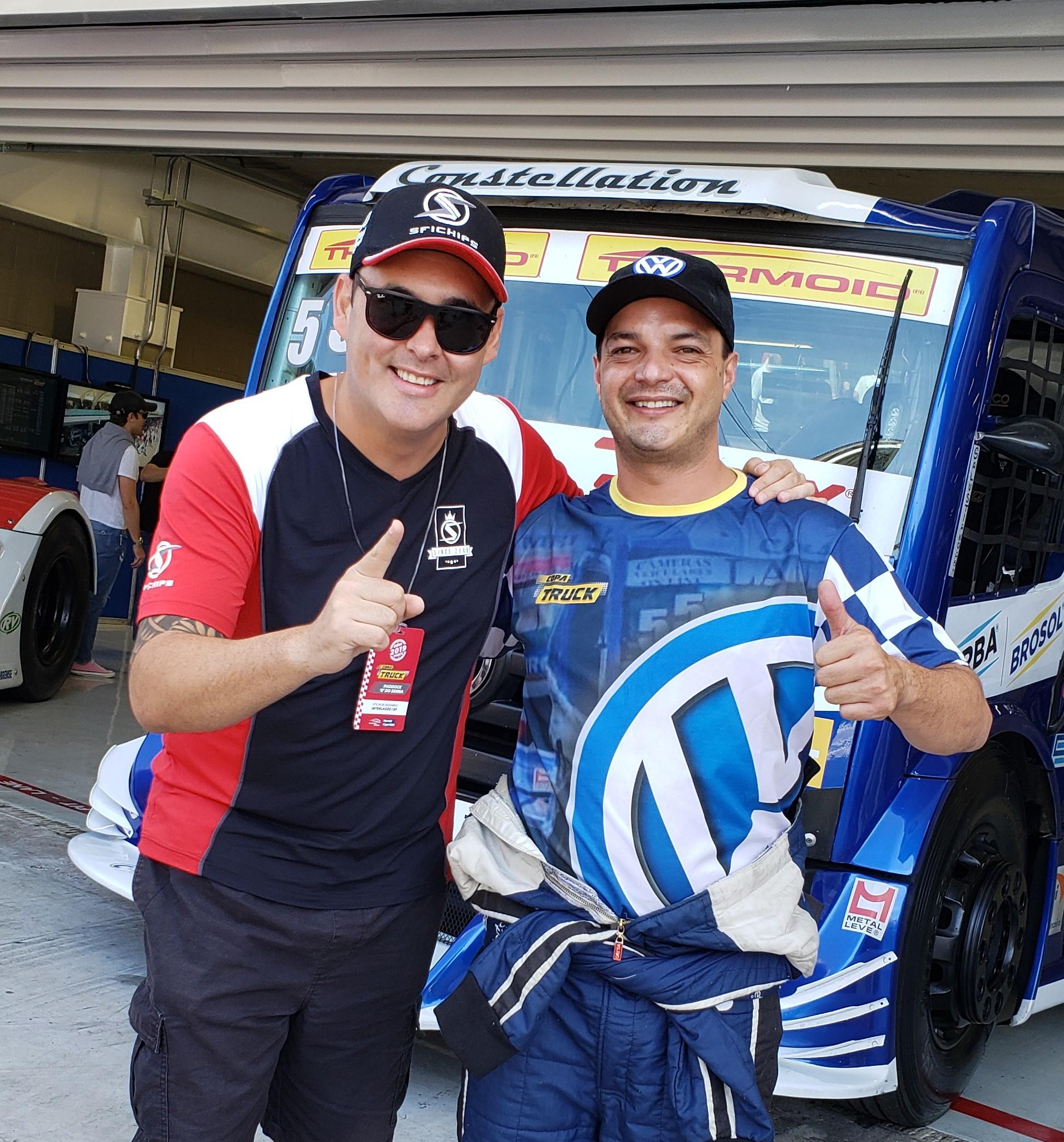 SFI CHIPS firma parceria com o piloto Paulo Salustiano e estreia na Copa Truck, na equipe VW