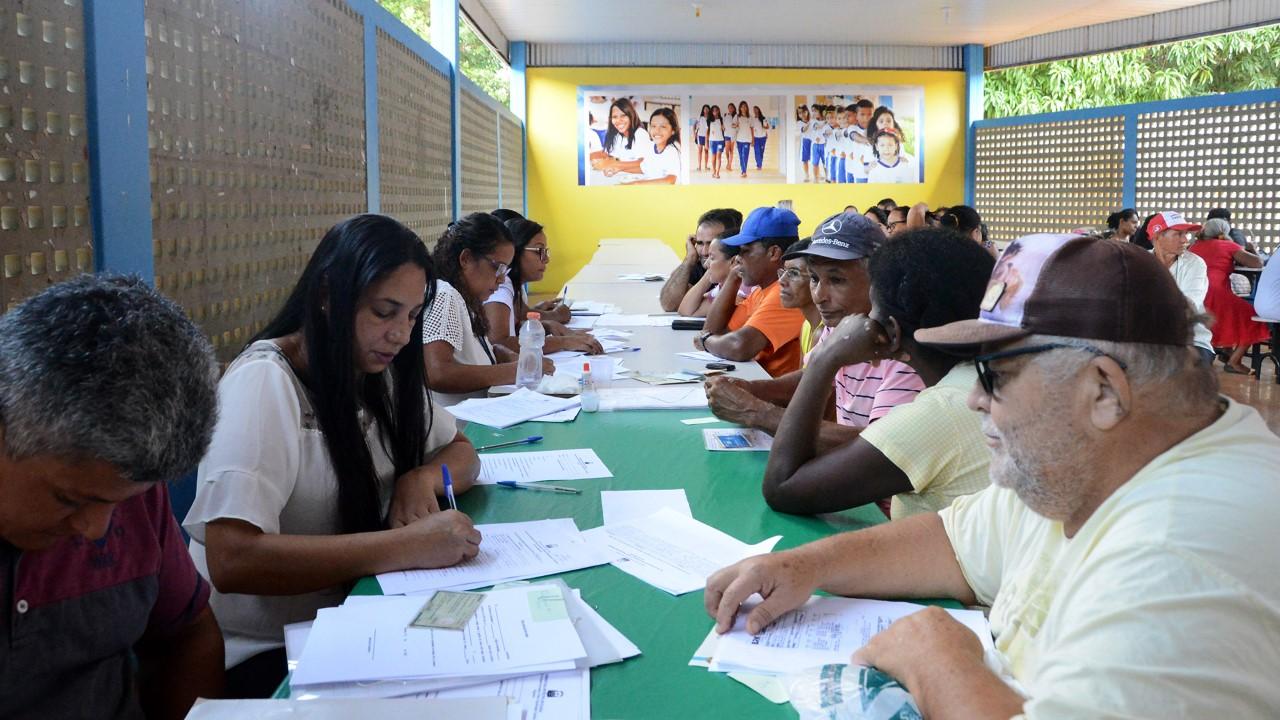 Distrito de Buritirana, em Palmas, recebe ação para concluir processo de regularização fundiária