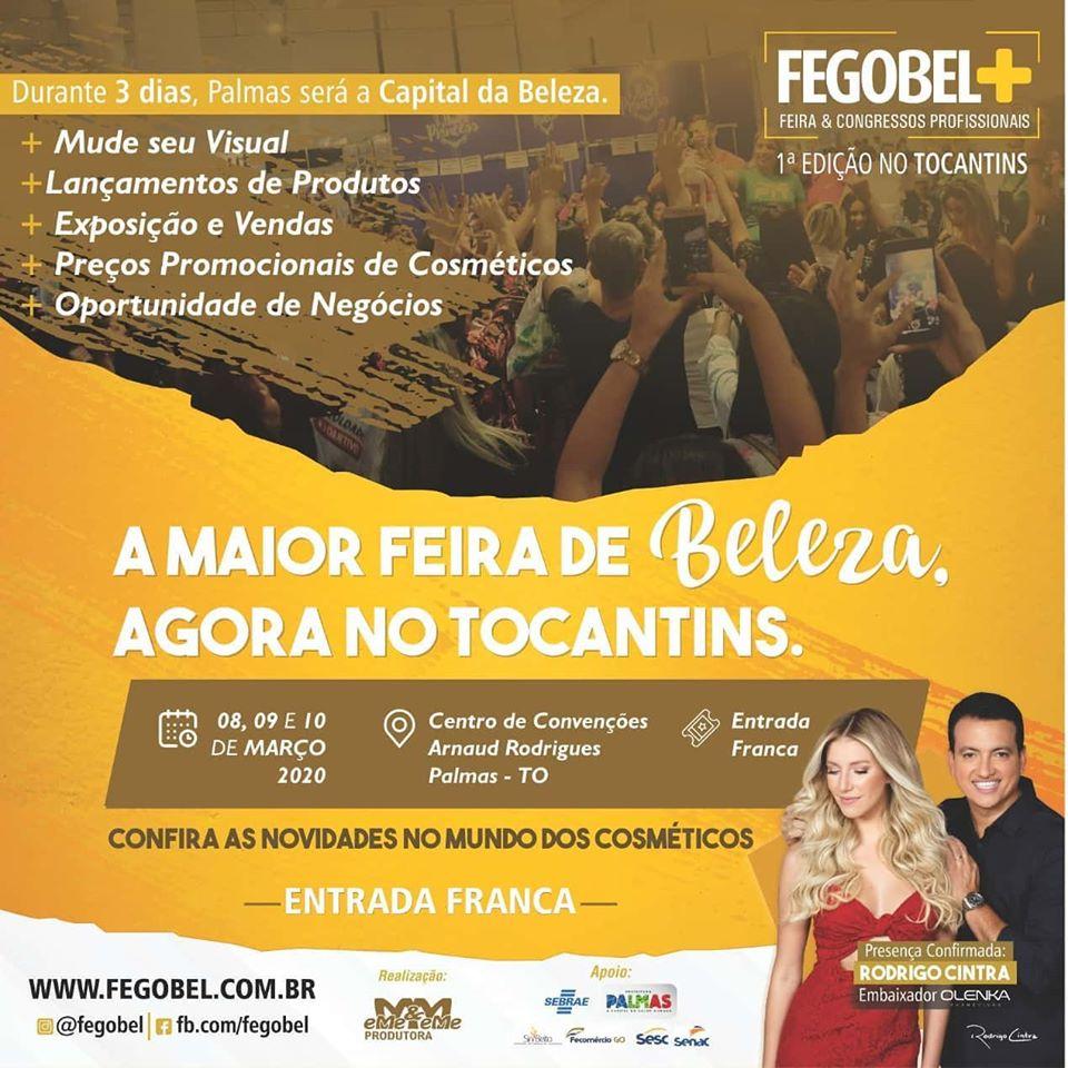 Segmento da beleza recebe ações do Sebrae na Fegobel em Palmas